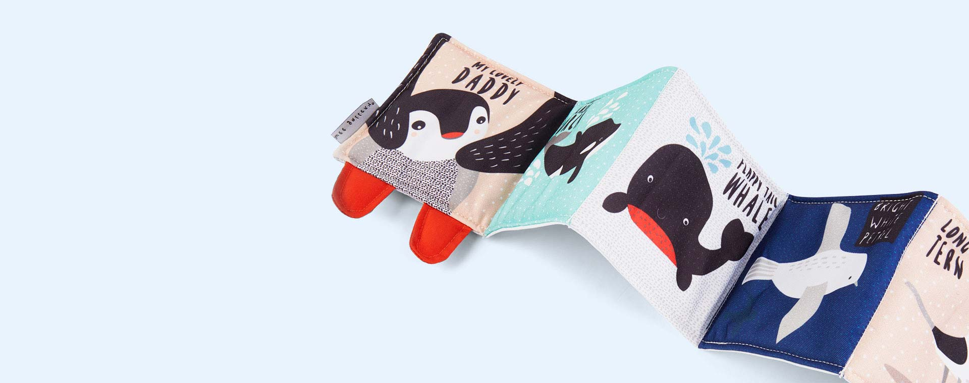 Penguin Wee Gallery Animal Soft Cloth Book