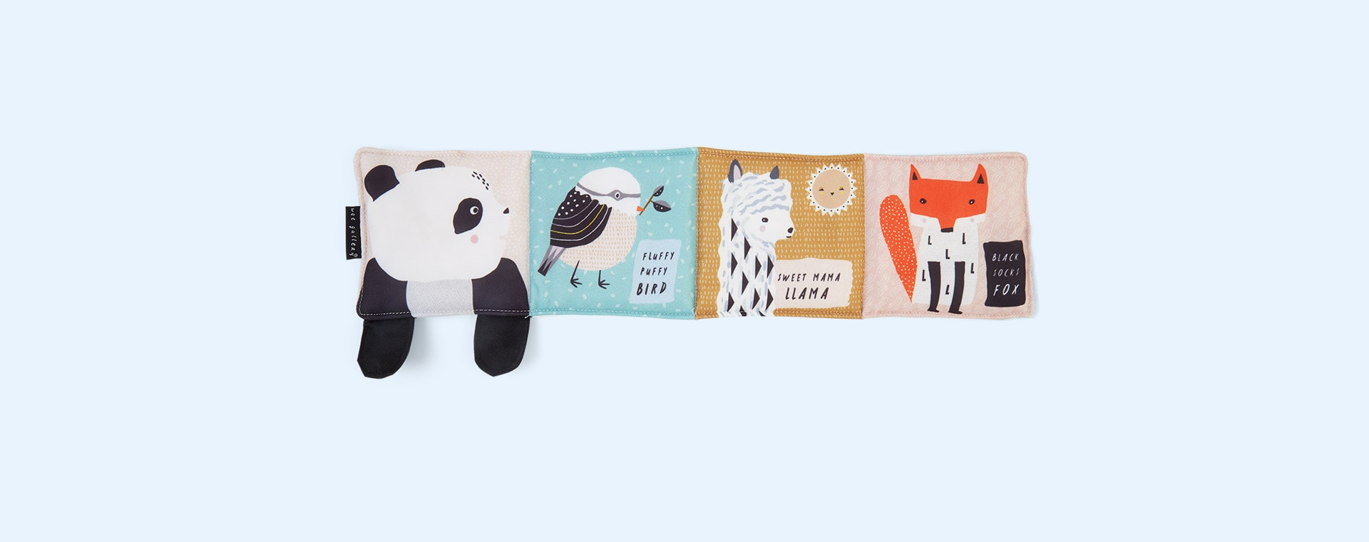 Roly, Poly , Panda Wee Gallery Animal Soft Cloth Book