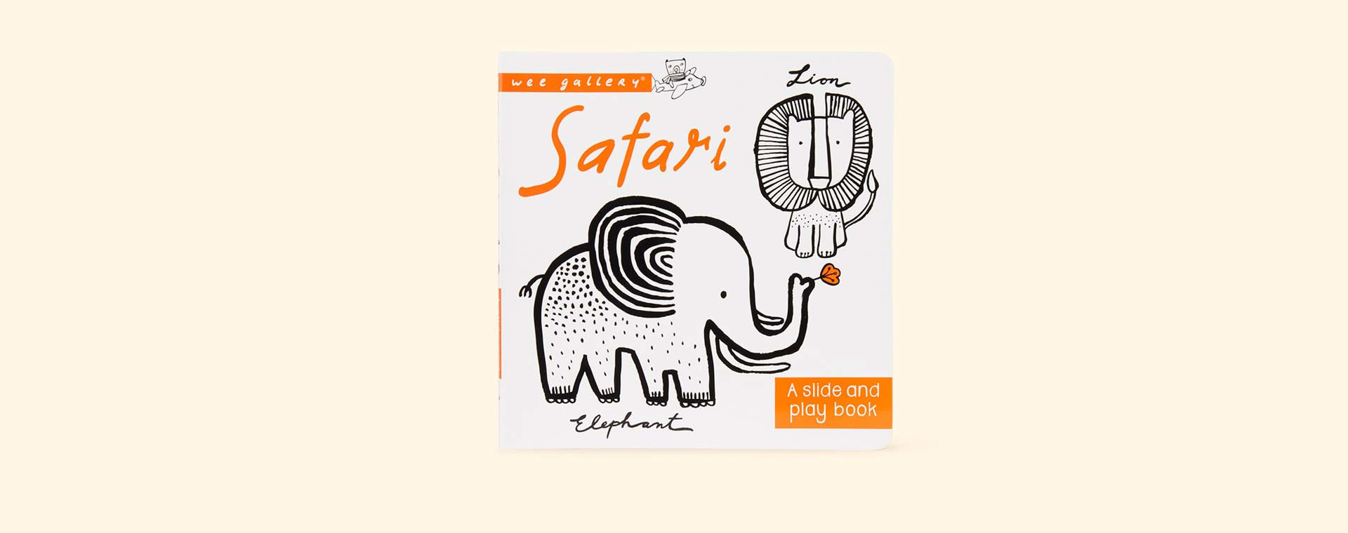 Safari Wee Gallery Slide & Play Book