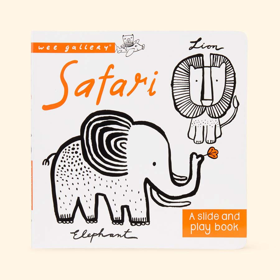 Safari Wee Gallery Slide & Play Book