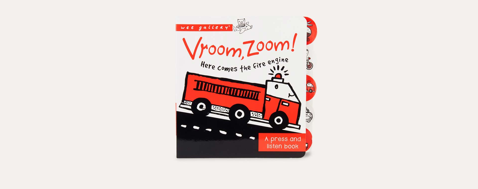Vroom, Zoom Wee Gallery Sound Book