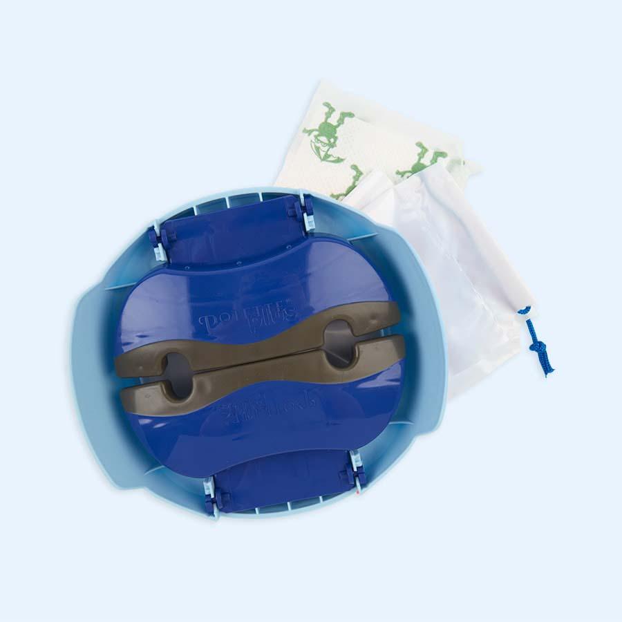 Blue Potette Potette Plus Travel Potty