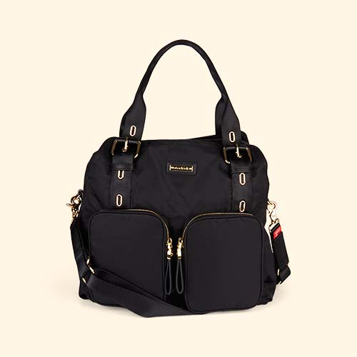 Black Storksak Alexa Changing Bag