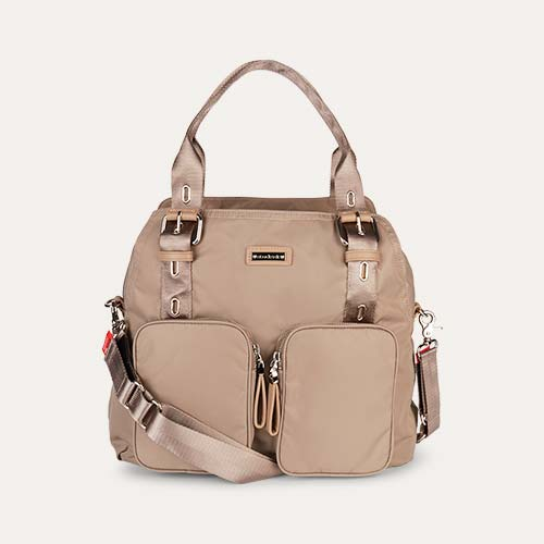 Taupe Storksak Alexa Changing Bag