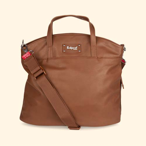 Tan Babymel Grace Changing Bag