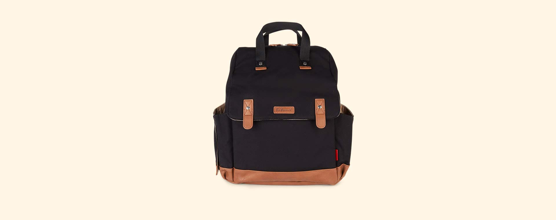 Black Babymel Robyn Convertible Backpack
