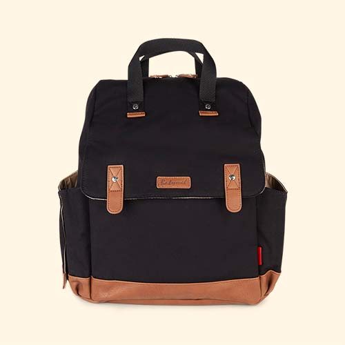 Black Babymel Robyn Convertible Backpack