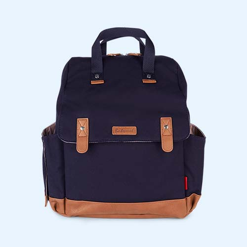 Navy Babymel Robyn Convertible Backpack