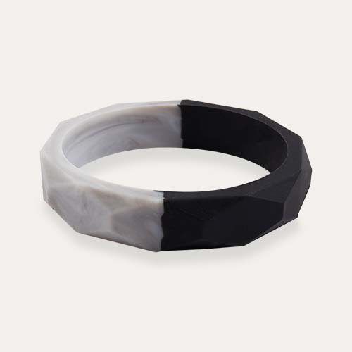 Onyx Marble Mama+Belle Amelia Teething Bangle