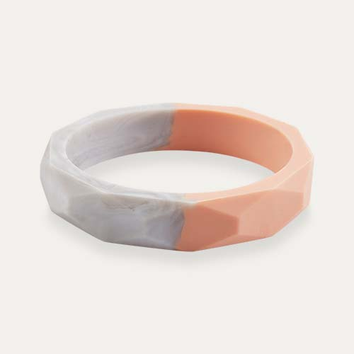 Nude Quartz Mama+Belle Amelia Teething Bangle