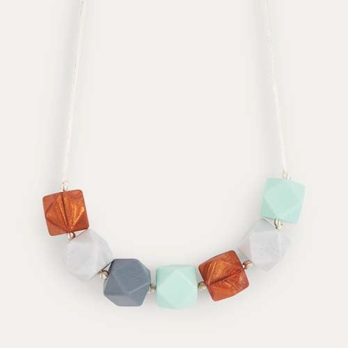 Mint Mama+Belle Aurora Teething Necklace