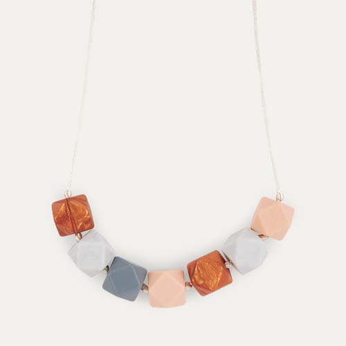 Quartz Mama+Belle Aurora Teething Necklace