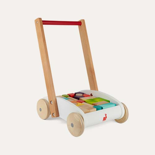Multi Janod Mini Buggy with Wooden Blocks
