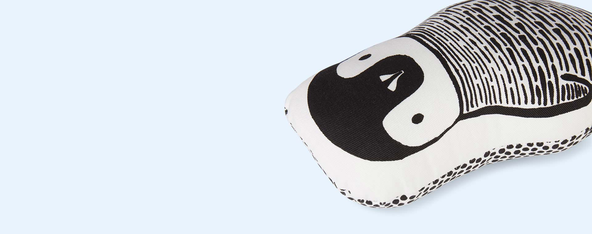 White Wee Gallery Penguin Pillow