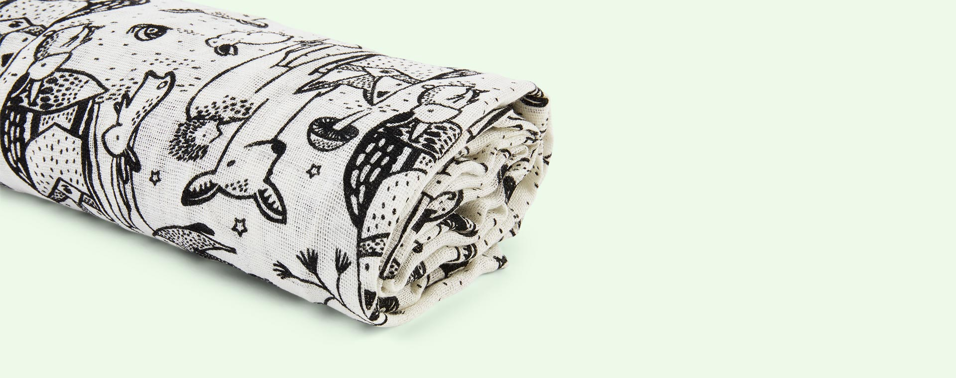 Forest Wee Gallery Swaddle