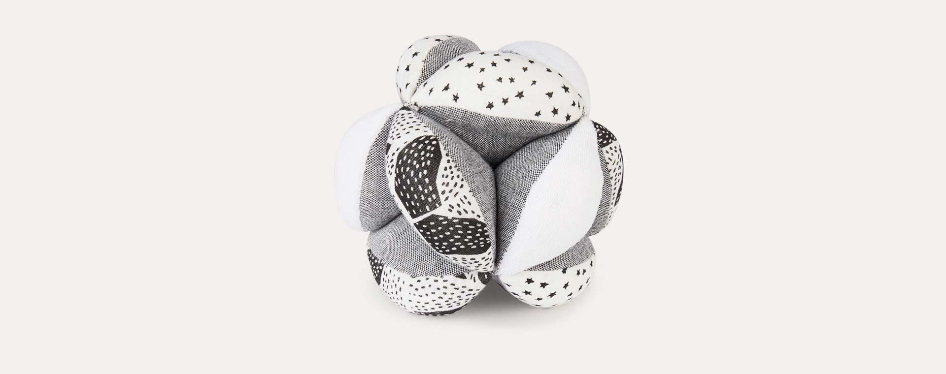 White Wee Gallery Organic Puzzle Sensory Ball