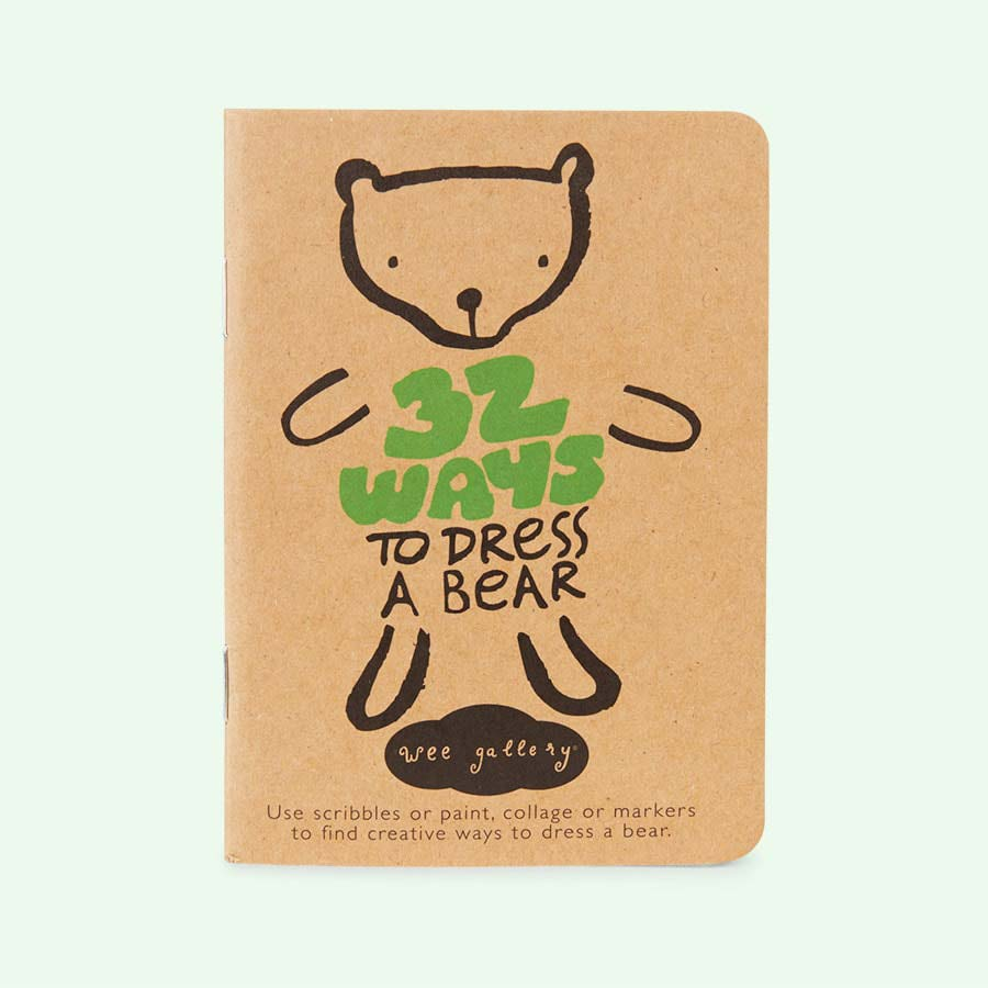 Bear Wee Gallery Dress-up Activity Book