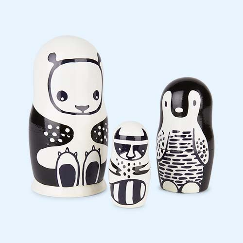 Animals Wee Gallery Nesting Dolls