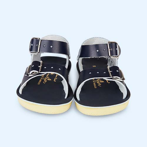 Navy Salt-Water Sandals Surfer Sandal