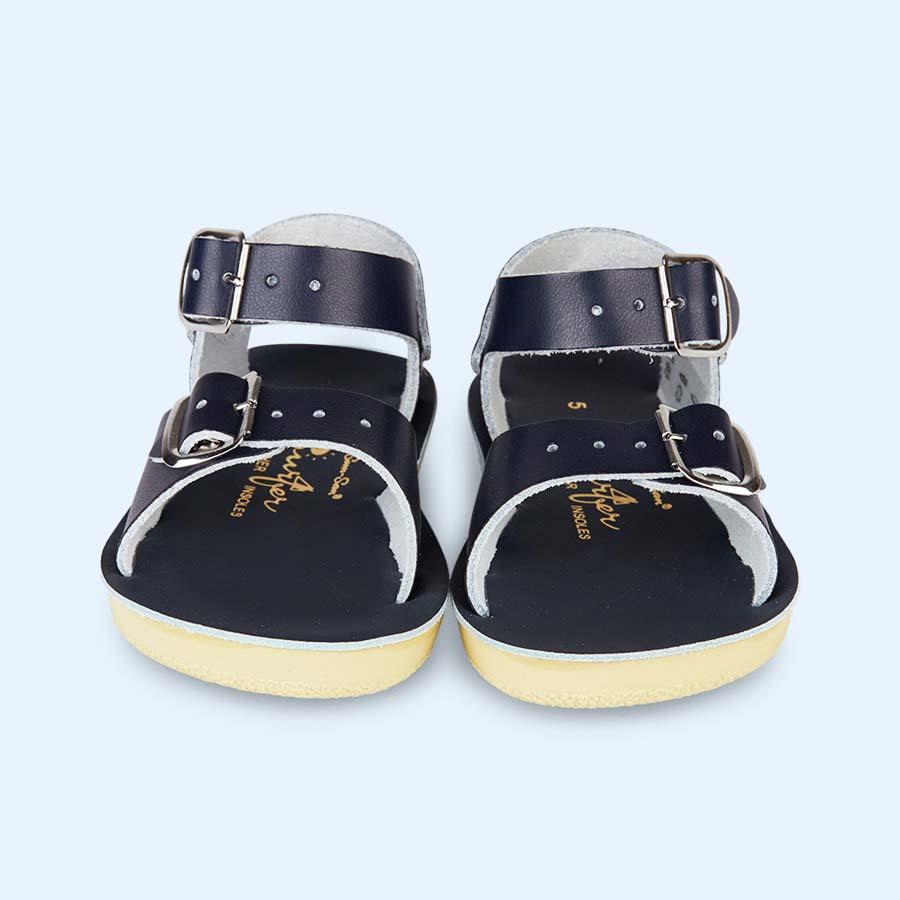 Navy Salt-Water Sandals Surfer Sandal