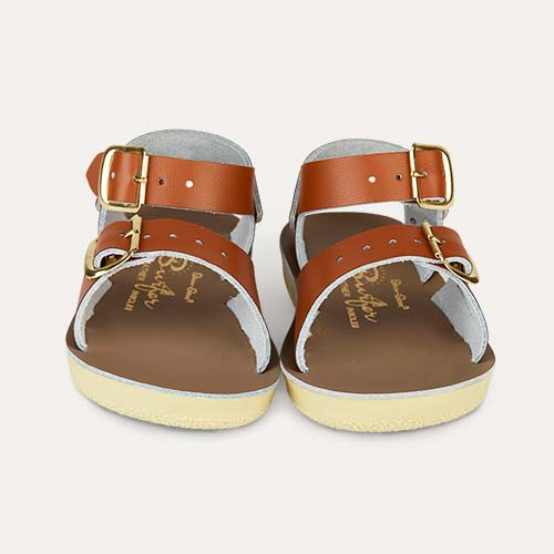 Tan Salt-Water Sandals Surfer Sandal