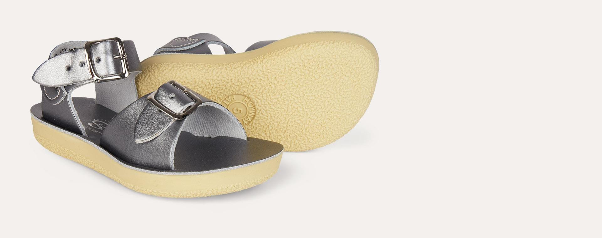 Pewter Salt-Water Sandals Surfer Sandal