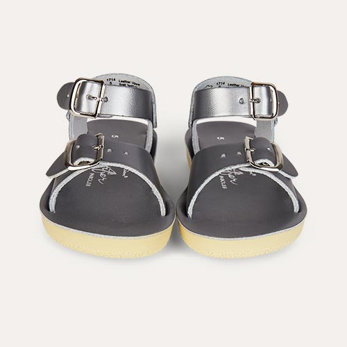 Pewter Salt-Water Sandals Surfer Sandal