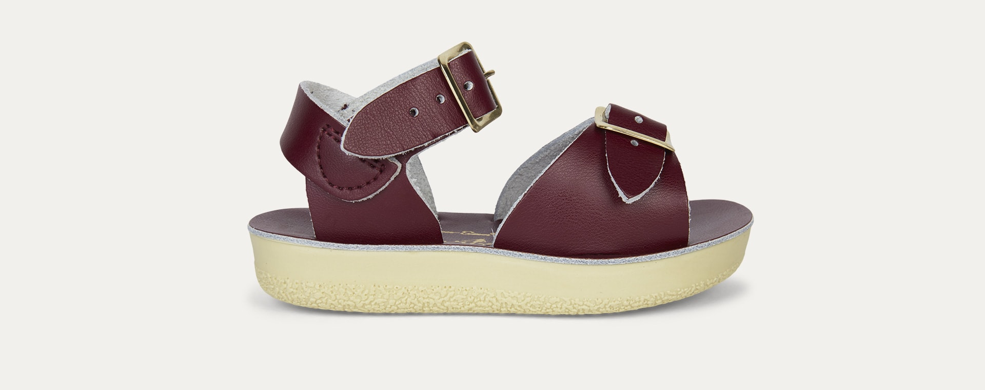 Claret Salt-Water Sandals Surfer Sandal