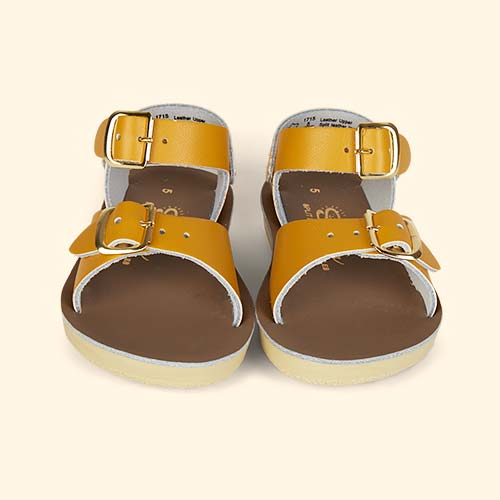 Mustard Salt-Water Sandals Surfer Sandal