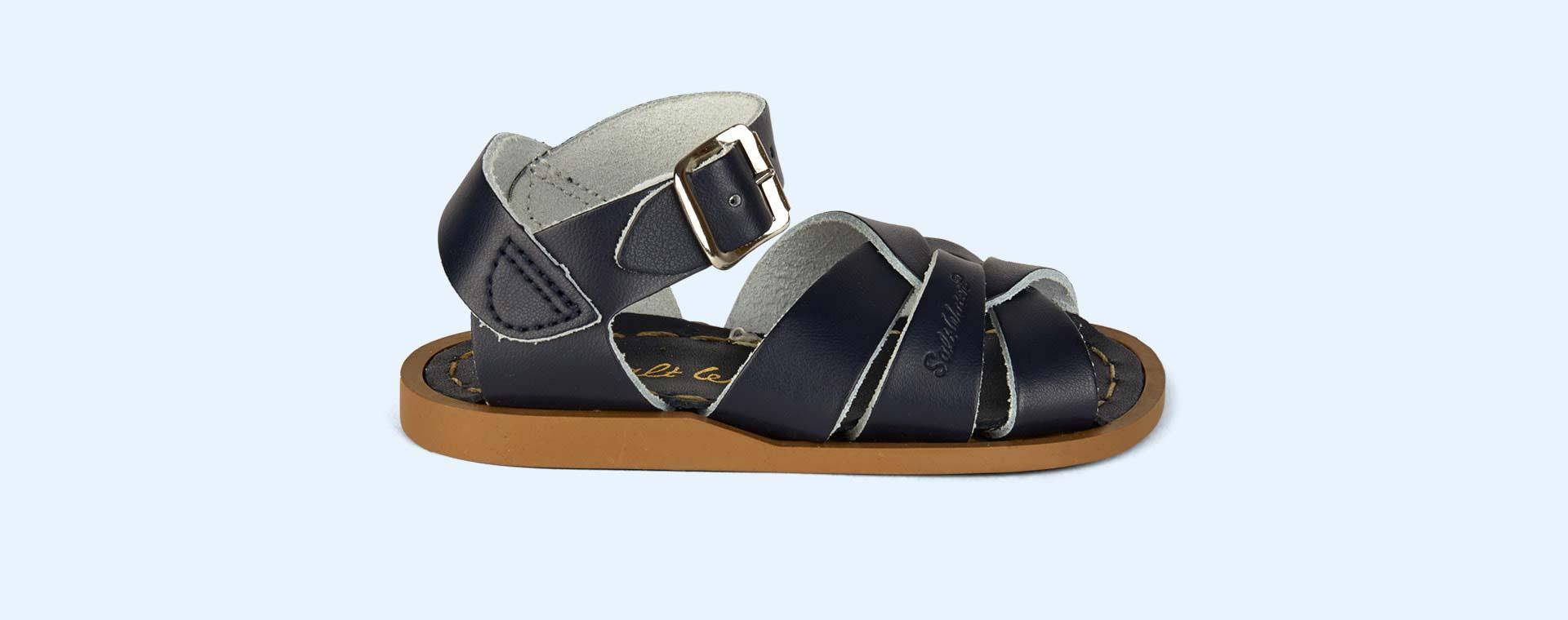 Navy Salt-Water Sandals The Original Salt Water Sandal