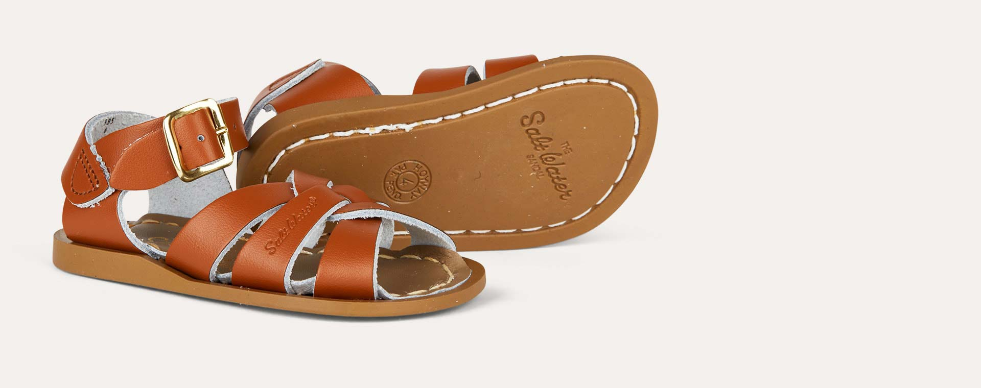 Tan Salt-Water Sandals The Original Salt Water Sandal