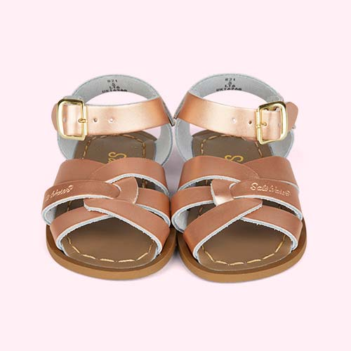 Rose Gold Salt-Water Sandals The Original Salt Water Sandal