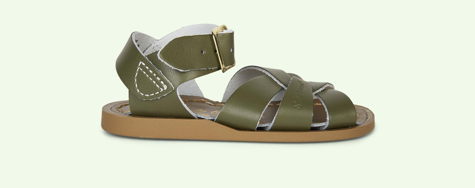 Olive Salt-Water Sandals The Original Salt Water Sandal