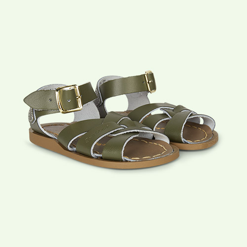 Olive Salt-Water Sandals The Original Salt Water Sandal