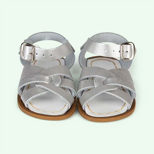 Silver Salt-Water Sandals The Original Salt Water Sandal