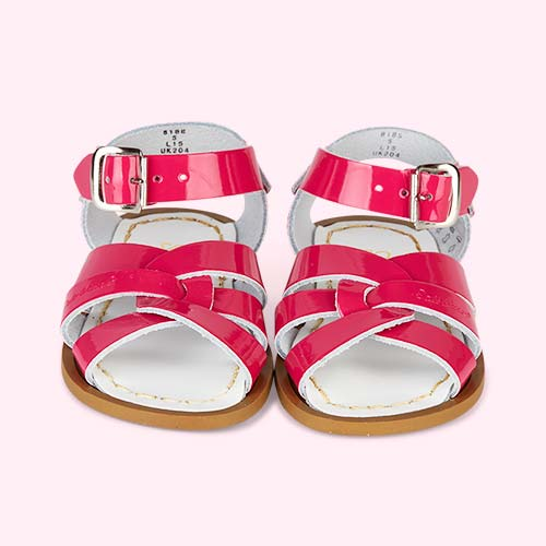 Shiny Fuschia Salt-Water Sandals The Original Salt Water Sandal