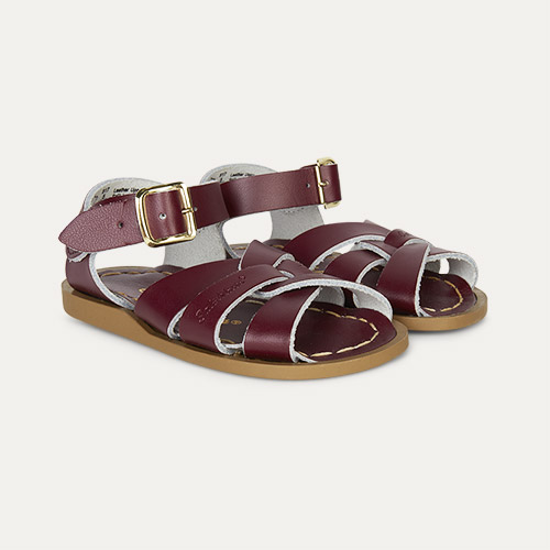 Claret Salt-Water Sandals The Original Salt Water Sandal