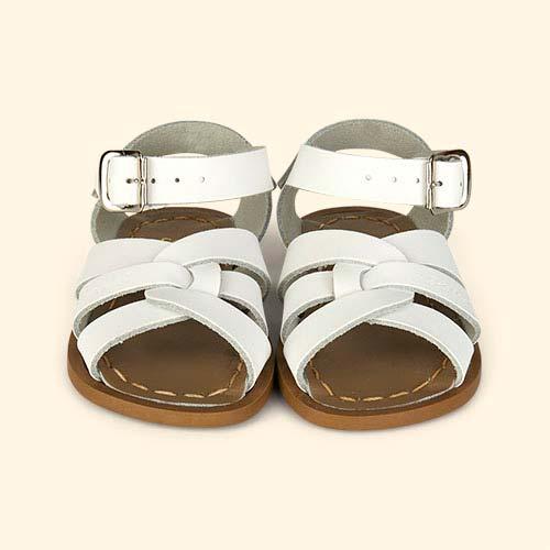 White Salt-Water Sandals The Original Salt Water Sandal
