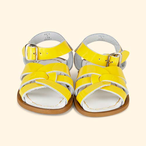 Shiny Yellow Salt-Water Sandals The Original Salt Water Sandal