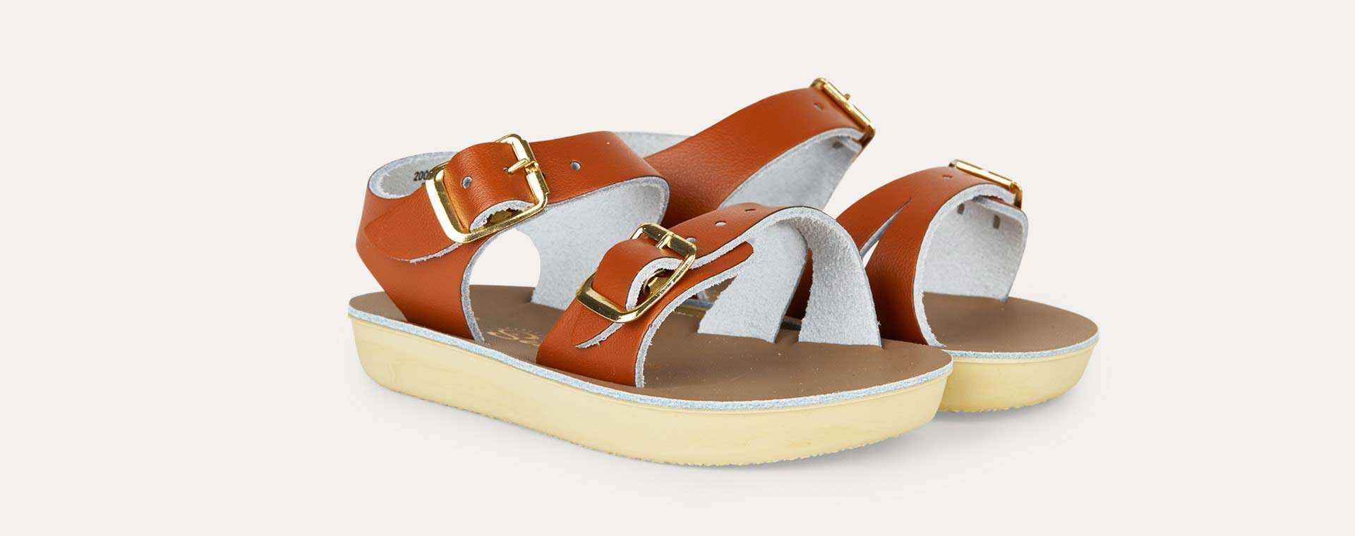 Tan Salt-Water Sandals Seawee Sandal