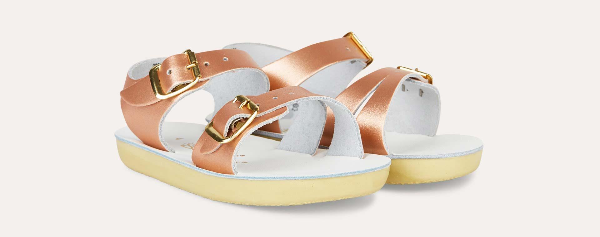 Rose Gold Salt-Water Sandals Seawee Sandal