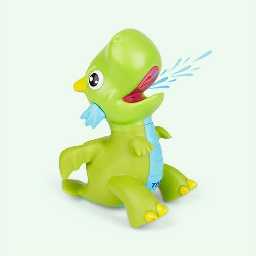 Green TOMY Light-up Bathtime Dragon