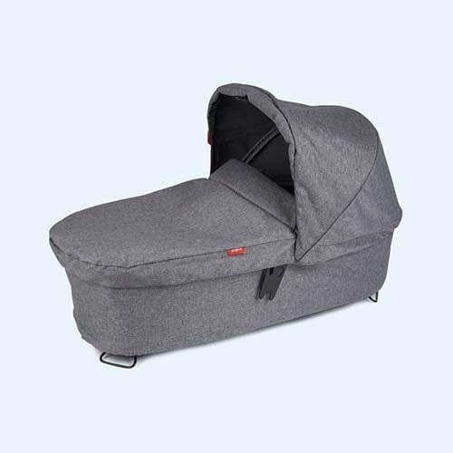 Grey Marl phil&teds Dash Snug Carrycot