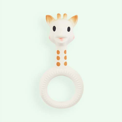 Cream Sophie la Girafe So Pure Ring Teether