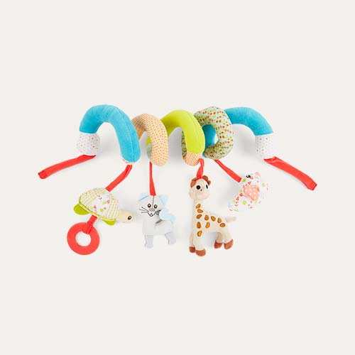 Multi Sophie la Girafe Activity Spiral