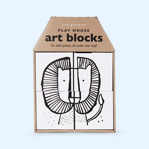 Wild Wee Gallery Play House Art Blocks