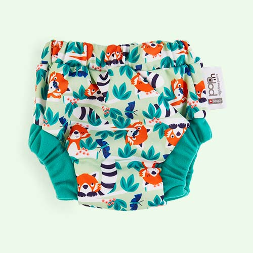 Red Panda Close Night Time Pant