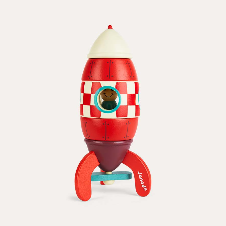 Best Spaceship Rockets Toys For Kids : Buy the janod small magnetic rocket toy tried tested by
