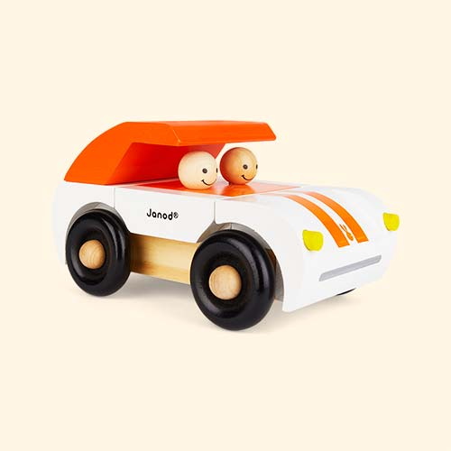 Orange Janod Roadster Magnetic Toy