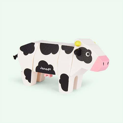 Cow Janod Animal Toy Kit